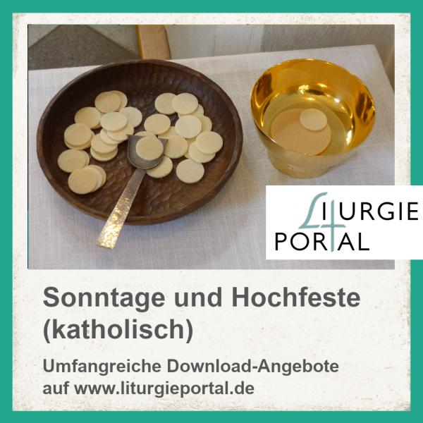 Download-Paket - Gottesdienste für Sonntage/Hochfeste (kath.)