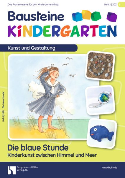 Bausteine Kindergarten - Kunst und Gestaltung (online) - Ausbildungspaket
