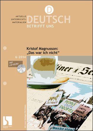 """Kristof Magnusson: """"Das war ich nicht"""""""