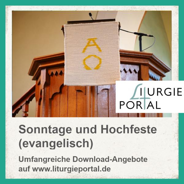Download-Paket - Gottesdienste für Sonntage/Hochfeste (evang.)