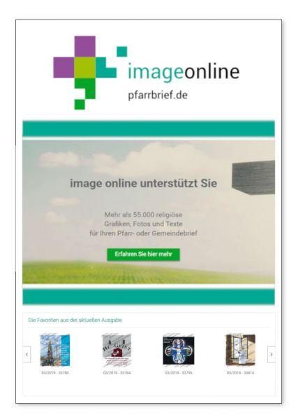 Mitgliedschaft bei image online (ohne Download-Begrenzung)