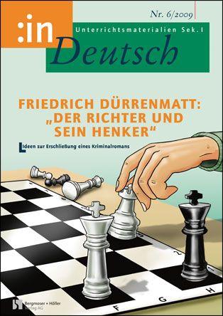 """Friedrich Dürrenmatt: """"Der Richter und sein Henker"""" (9/10)"""
