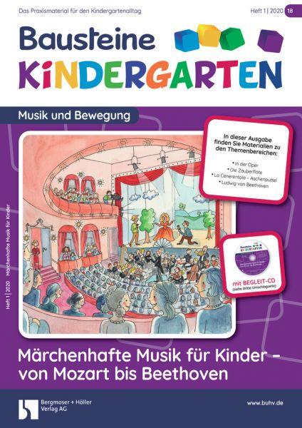 Bausteine Kindergarten - Musik und Bewegung (online)