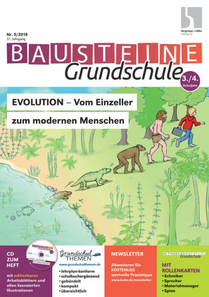 Evolution - Vom Einzeller zum modernen Menschen