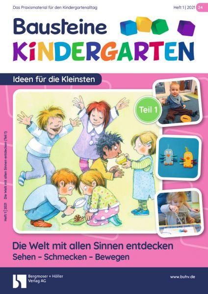 Bausteine Kindergarten - Ideen für die Kleinsten (online) - Ausbildungspaket