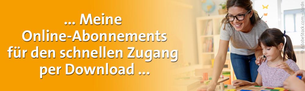 Online-Abonnements für den Kindergarten