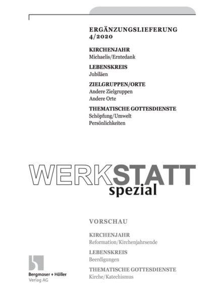 Werkstatt Spezial Nr. 4/2020