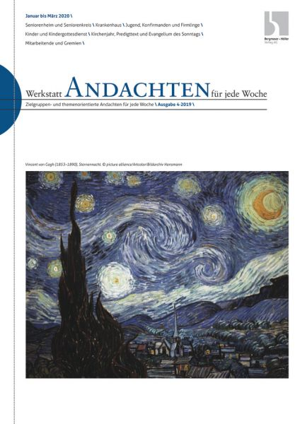 Werkstatt Andachten f. j. Woche Nr. 04/2019