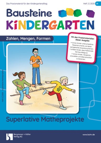Bausteine Kindergarten - Zahlen,Mengen,Formen (online)