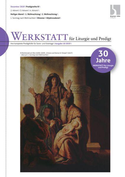 Werkstatt für Liturgie und Predigt Nr. 10-2020