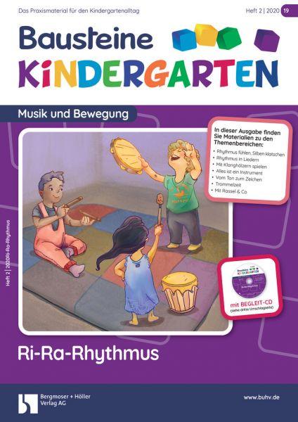 Bausteine Kindergarten - Musik und Bewegung (online) - Ausbildungspaket