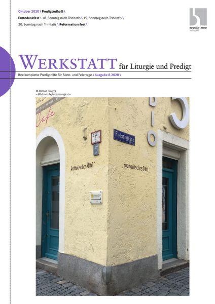 Werkstatt für Liturgie und Predigt Nr. 08-2020