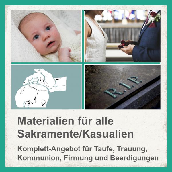 Komplett-Paket für Sakramente / Kasualien