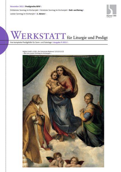 Werkstatt für Liturgie und Predigt Nr. 9/2021