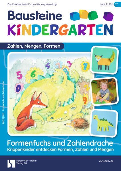 Bausteine Kindergarten - Zahlen,Mengen,Formen (online) - Ausbildungspaket