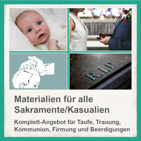 Komplett-Paket für Sakramete / Kasualien