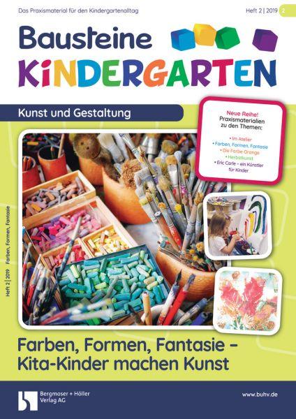 Farben, Formen, Fantasie - Kita-Kinder machen Kuns