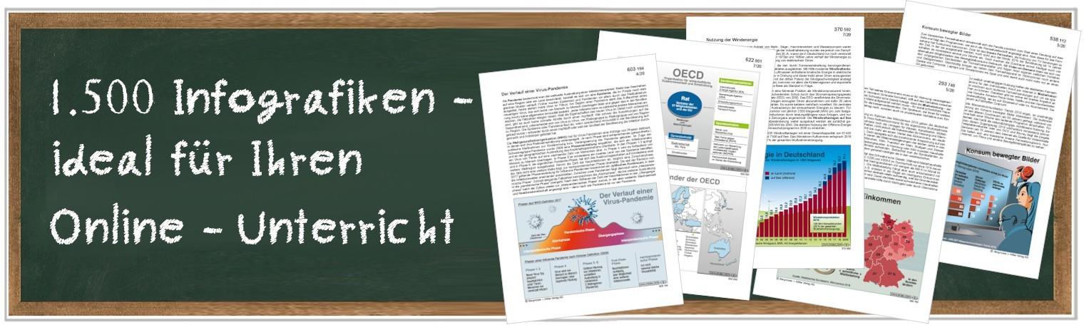 Infografiken für den Online-Unterricht